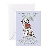 Dalmatian Mother's Day Greeting Card