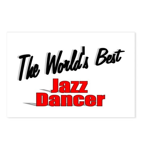 &quot; The World's Best Jazz Dancer&quot; Postcards (Package