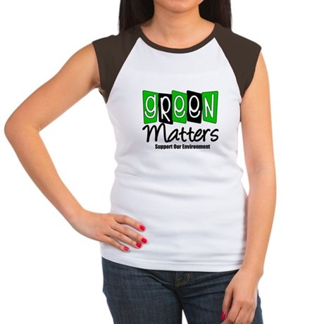Green Matters v2 Women's Cap Sleeve T-Shirt