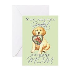 Golden I Love Mom Greeting Card