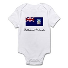Falkland Islands Flag Infant Bodysuit