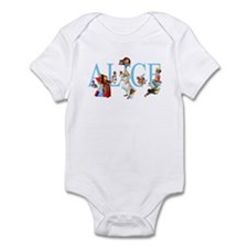 ALICE IN WONDERLAND & FRIENDS Infant Bodysuit