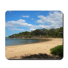 Sunny Pearl Beach, NSW Mousepad