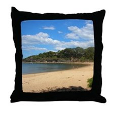 Sunny Pearl Beach, NSW Throw Pillow