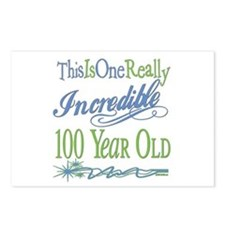 Incredible 100th Postcards (Package of 8)