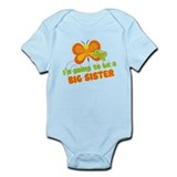 Butterfly Big Sister To Be Onesie