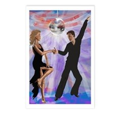 Disco Dancing Postcards (Package of 8)