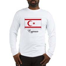 Cyprus Flag Long Sleeve T-Shirt