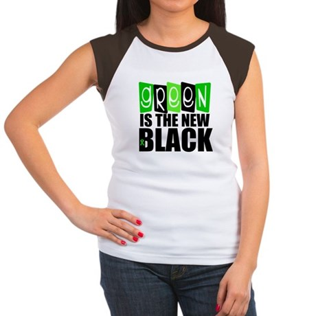 Green is The New Black v2 Women's Cap Sleeve T-Shi