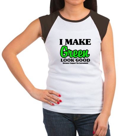 I Make Green Look Good Women's Cap Sleeve T-Shirt