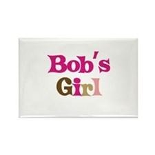 Bob's Girl Rectangle Magnet (10 pack)
