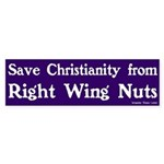 Save Christianity Bumper Sticker