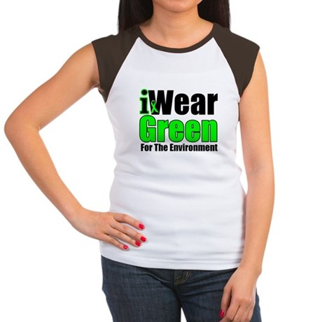 IWear Green Environment Women's Cap Sleeve T-Shirt