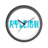 Ryleigh Faded (Blue) Wall Clock