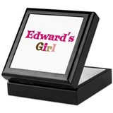 Edward's Girl Keepsake Box