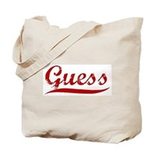 Guess (red vintage) Tote Bag