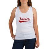 Javier (red vintage) Women's Tank Top