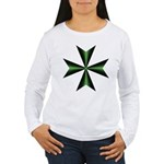 Women's Maltese Cross Long Sleeve Shirt