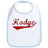 Hodge (red vintage) Bib