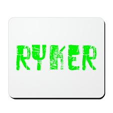 Ryker Faded (Green) Mousepad