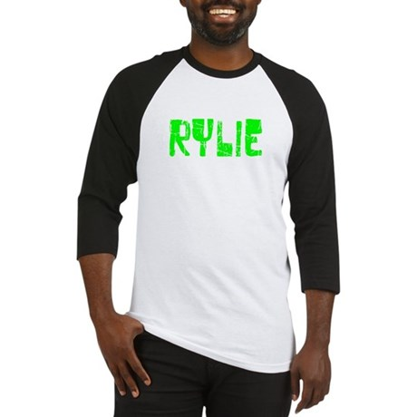 Rylie Faded (Green) Baseball Jersey