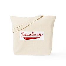 Jacobson (red vintage) Tote Bag