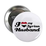 "I love my Syrian Husband 2.25"" Button"