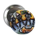 "FLATTIE b-day party! 2.25"" Button (10 pack)"