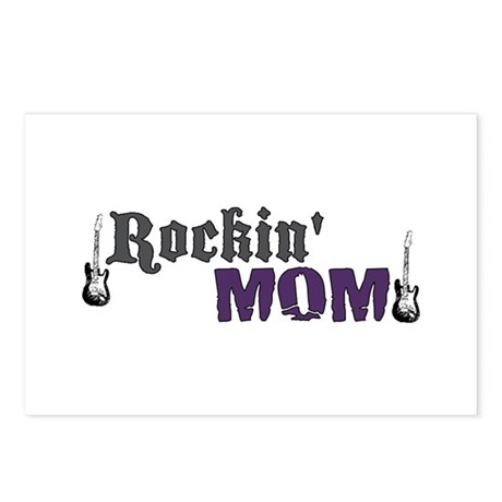 Rockin Mom Postcards (Package of 8)
