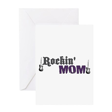 Rockin Mom Greeting Card