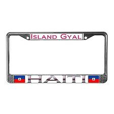 HAITI - Island Gyal - License Plate Frame