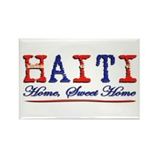 Sweet Home Haiti - Rectangle Magnet
