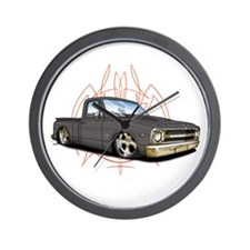Rat Rod Chevy Truck Clock