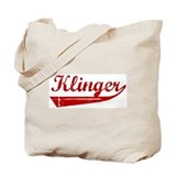 Klinger (red vintage) Tote Bag