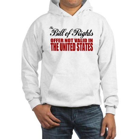 Bill of Rights (Not Valid) Hooded Sweatshirt
