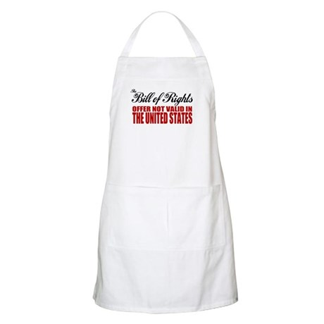 Bill of Rights (Not Valid) BBQ Apron