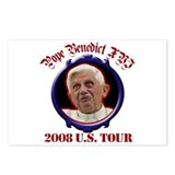 Pope Benedict XVI 2008 U.S. Tour Postcards (Packag