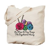 An Hour A Day... (2) Tote Bag