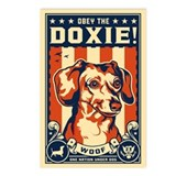 Obey the Doxie! Postcards USA (Pack of 8)