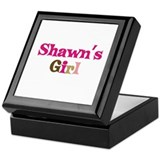 Shawn's Girl Keepsake Box