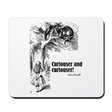 "Carroll ""Curiouser"" Mousepad"