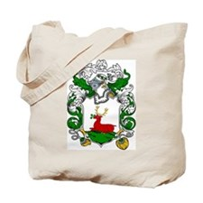 Bowen Family Crest Tote Bag
