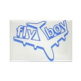 Fly Boy Rectangle Magnet (10 pack)