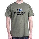 I Love Finnish Boys T-Shirt