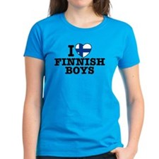I Love Finnish Boys Tee