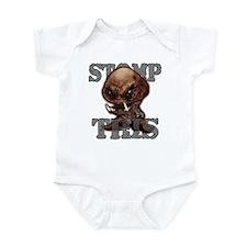 Scary Goomba Infant Bodysuit