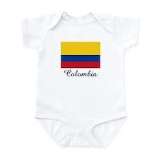 Colombia Flag Infant Bodysuit