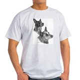 Blue Heeler & Red Heeler - ACD T-Shirt