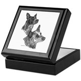 Blue Heeler &amp;amp; Red Heeler - ACD Keepsake Box
