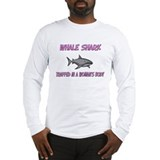 Whale Shark Trapped In A Woman's Body Long Sleeve